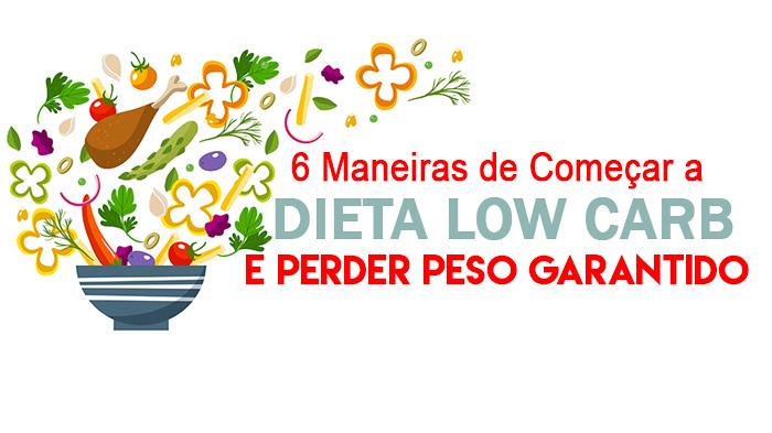 Dieta low carb para adelgazar